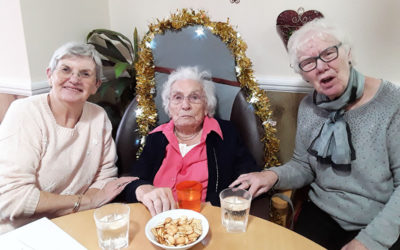 Meyer House Care Home host residents Christmas Party