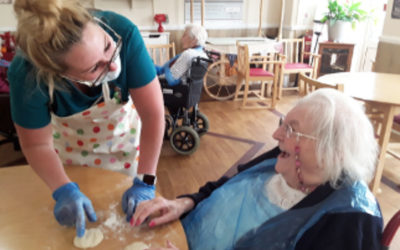 Celebrations all around at Meyer House Care Home