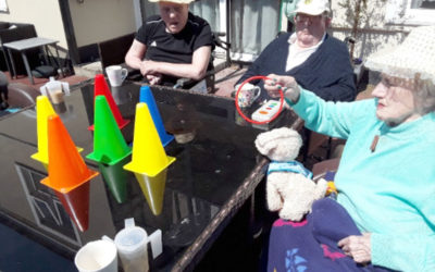 Fun in the sun at Meyer House Care Home