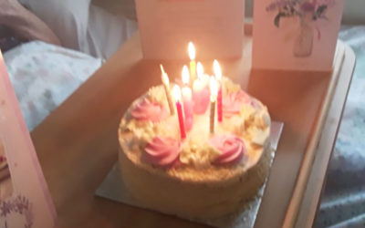 Birthday wishes to Dorothy at Meyer House Care Home