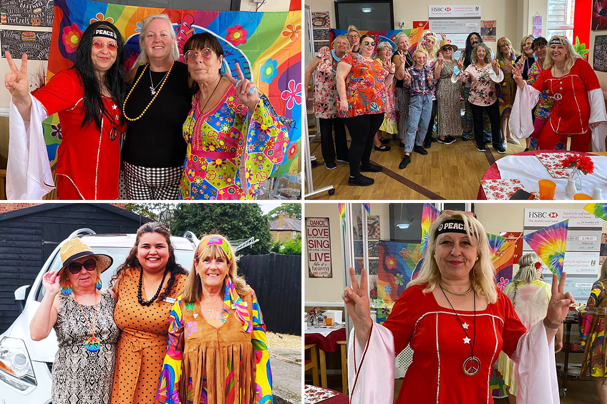 Sixties fun day at Meyer House Care Home