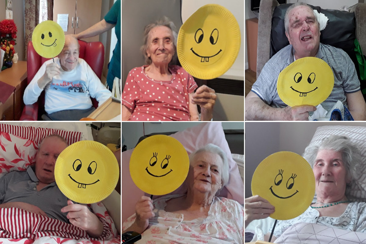 Smiley Day at Meyer House Care Home