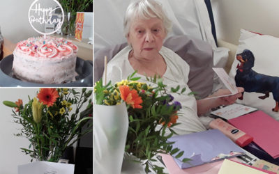 Happy birthday to Lillian at Meyer House Care Home