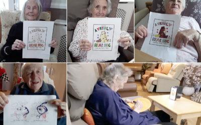 Sending virtual hugs from Meyer House Care Home