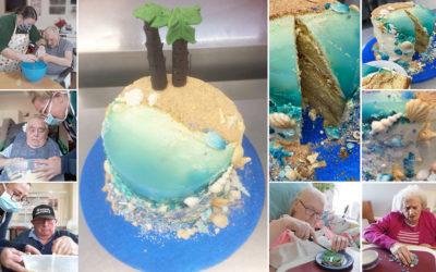 Meyer House Care Home creates winning seaside Showstopper Cake