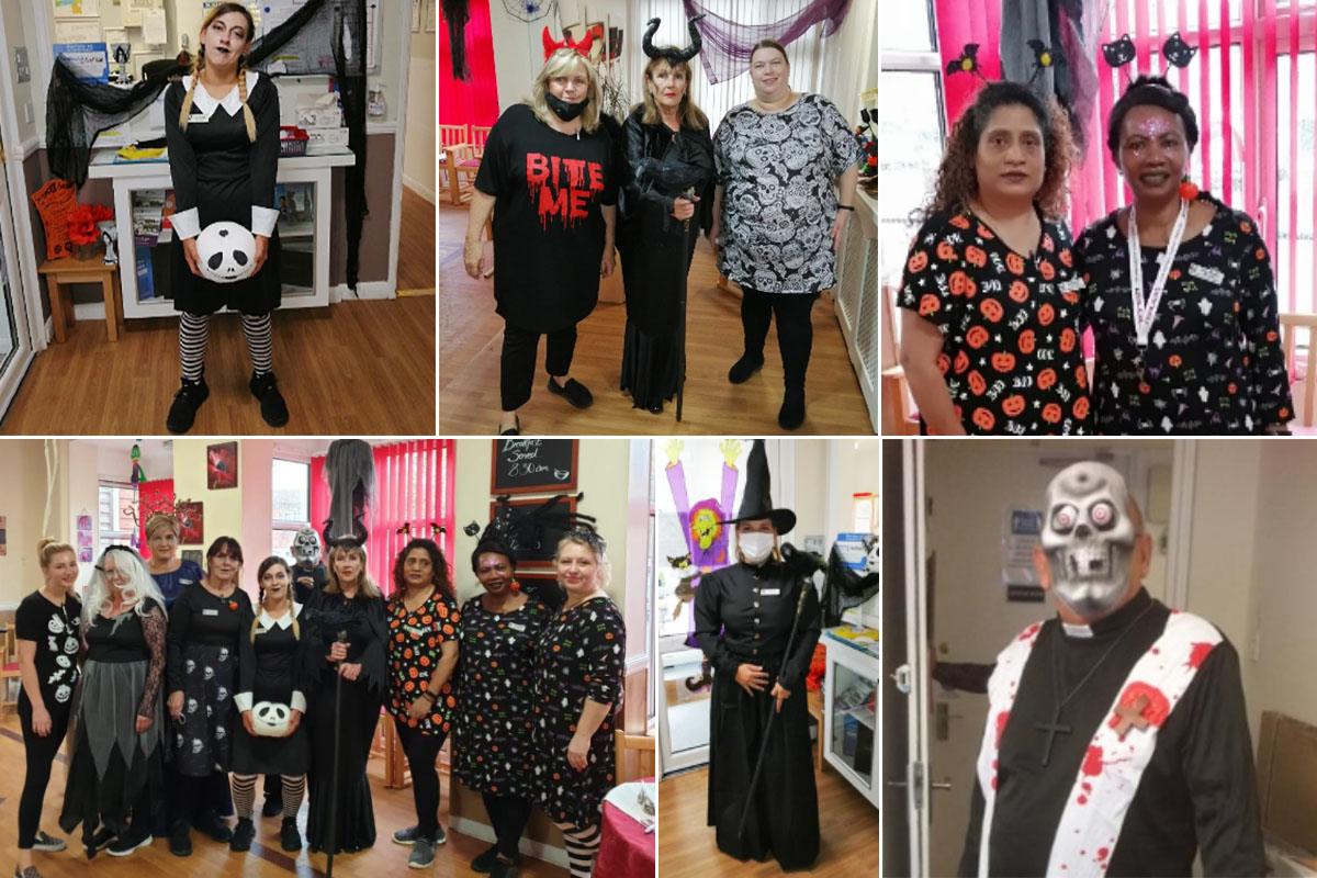 Meyer House Care Home Halloween celebrations