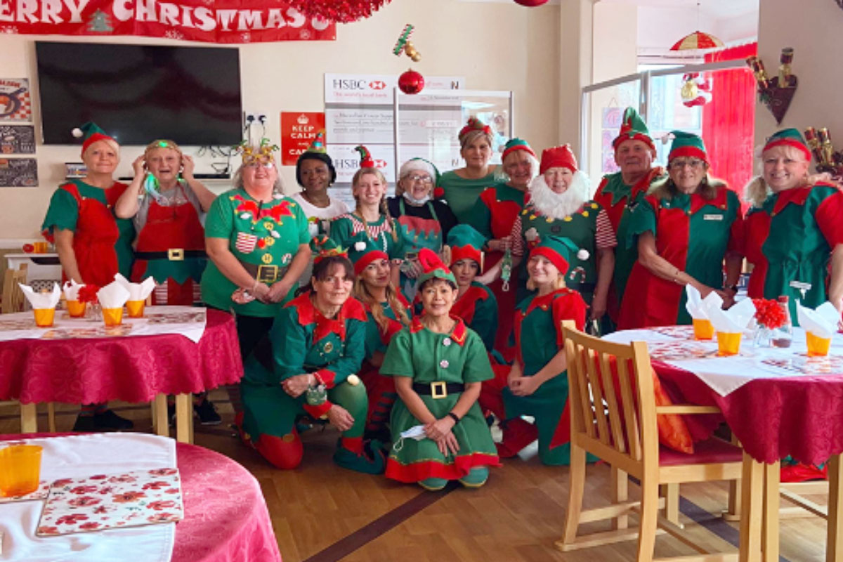 Its beginning to look a lot like Christmas at Meyer House Care Home