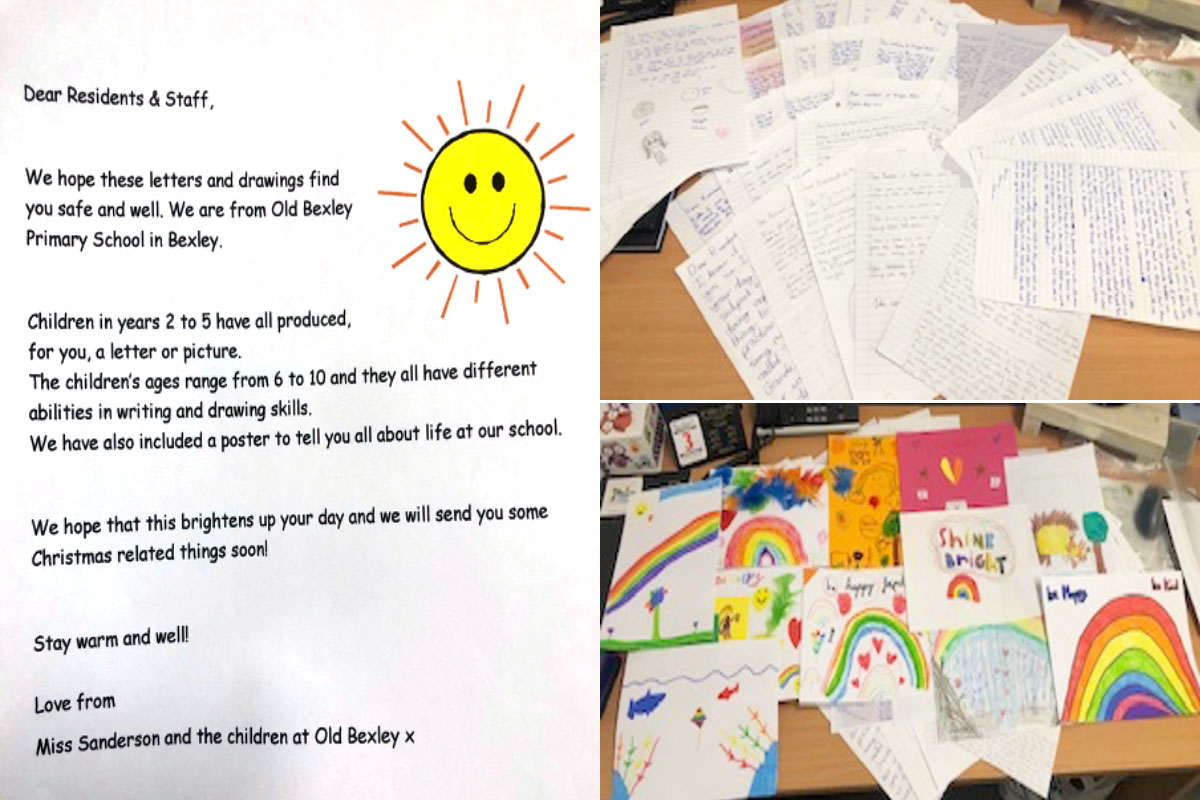 Meyer House Care Home residents receive delightful letters and pictures