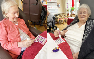 A morning of Bingo at Meyer House Care Home