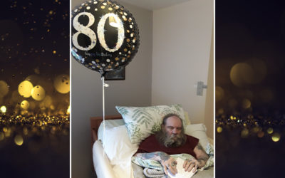 80th birthday celebrations at Meyer House Care Home