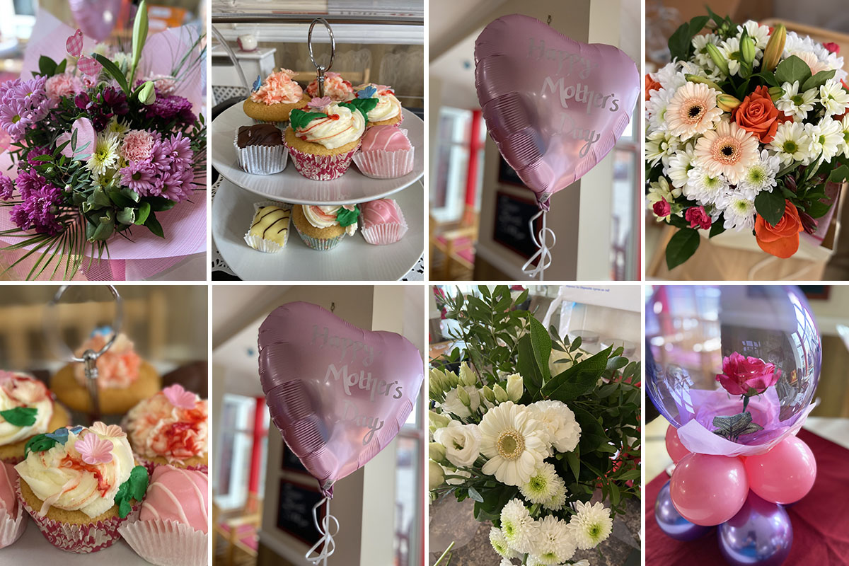 Meyer House Care Home is filled with flowers for Mothers Day