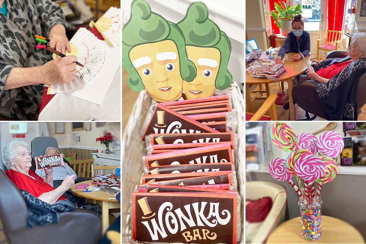 A Wonka weekend at Meyer House Care Home