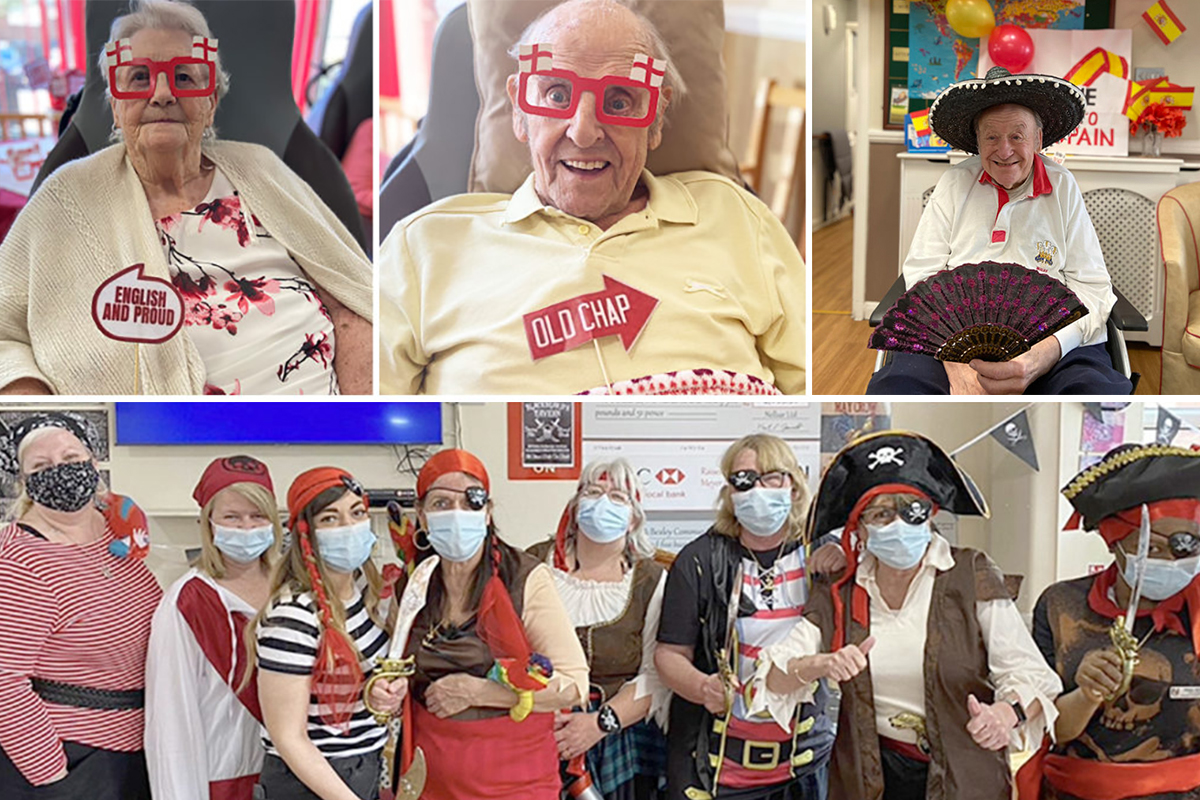 Always a smile at Meyer House Care Home