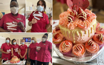 Thanking our Carers at Meyer House Care Home