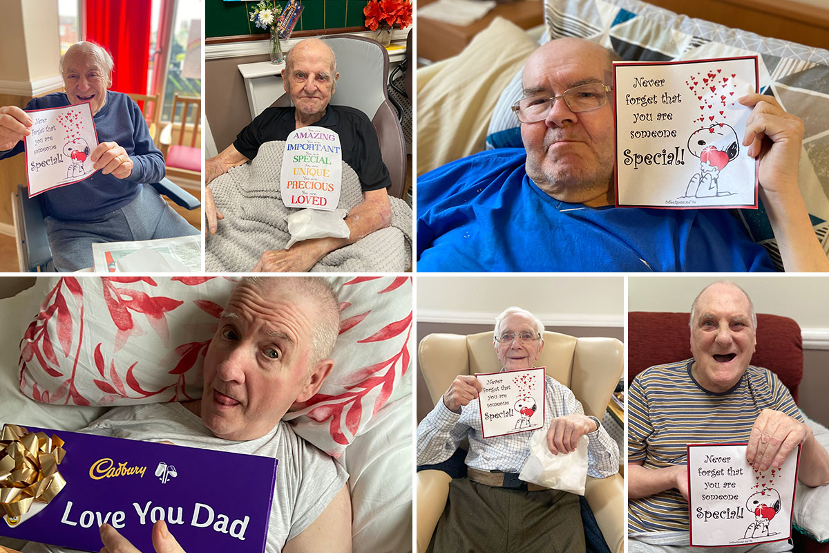 Fathers Day fun at Meyer House Care Home
