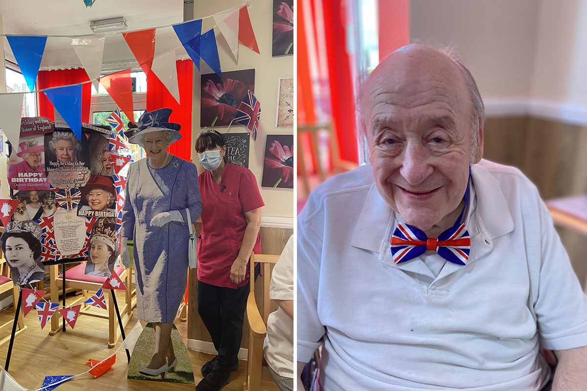 Royal birthday celebrations at Meyer House Care Home