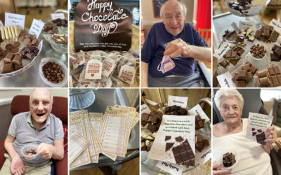 Celebrating World Chocolate Day at Meyer House Care Home