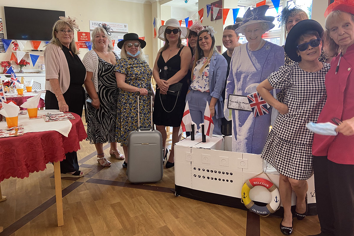 Meyer House Care Home return home after virtual cruise adventure