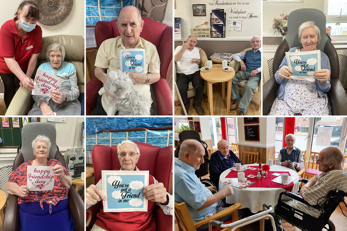Meyer House Care Home celebrates National Friendship Day