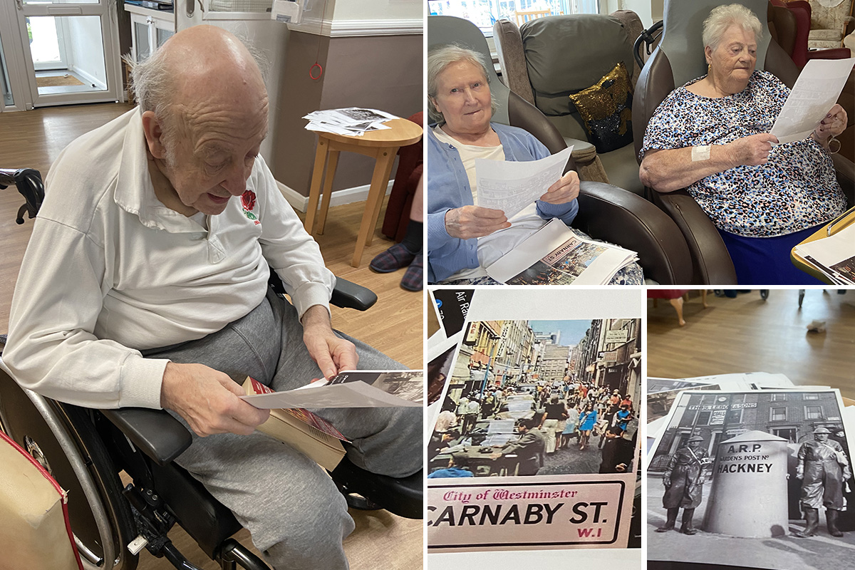 Meyer House Care Home residents share memories of London
