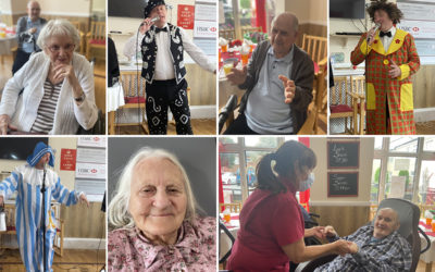 Meyer House Care Home residents enjoy musical London Pride Show