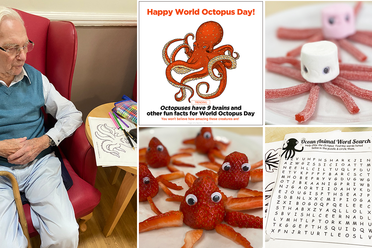 Meyer House Care Home celebrates World Octopus Day