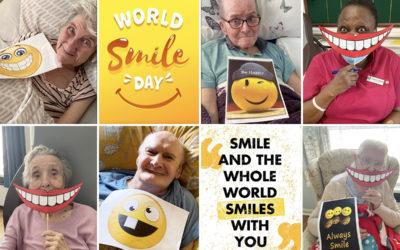 Celebrating World Smile Day at Meyer House Care Home